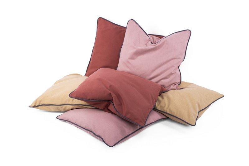 Kolorowe poszewki na poduszki